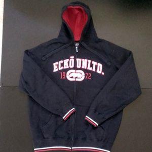 ((Pre-Owned) Ecko Unltd Hoodie Jacket X-Large